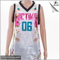 Healong Dye Sublimation wholesale reversible basketball uniforms hotsale philippines custom basketball uniform
