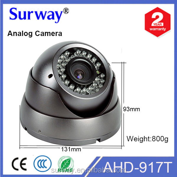 Surway Fixed lens AHD camera low price cctv dome camera new products on china market for home use