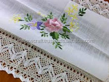 hand embroidery napkins and tablecloth