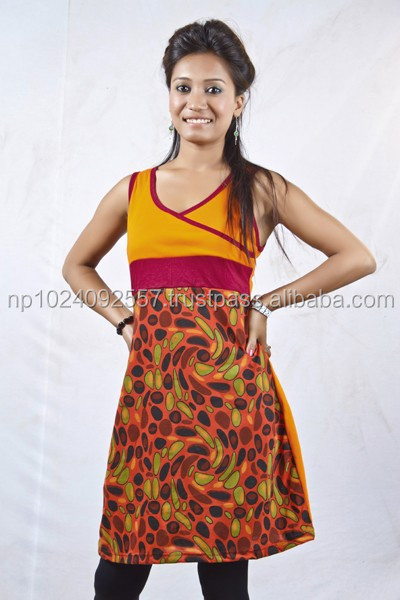 Tunics/Nepal/Skirts/Dresses/Girls/Kurta/Tops / All Color/K 32
