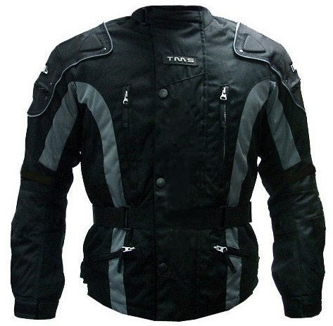 Mens Enduro Armor Jacket Motorcycle Touring Dual Sport Dirt Bike ATV (Medium, Black)