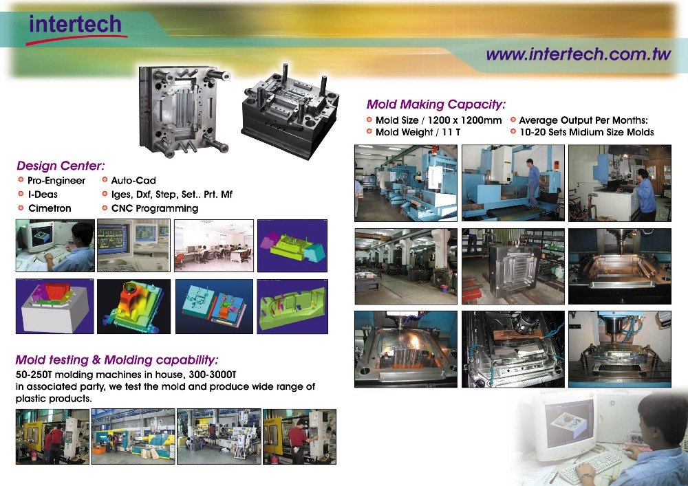 customized injection plastic tooling manufacturer