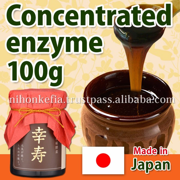 Hot-selling Japanese enzyme contained food ingredient ( 80 kinds enzyme ) for digesting system at reasonable prices , OEM OK