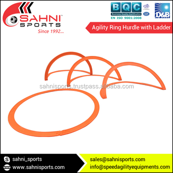 Agility Ring Hurdle with Ladder