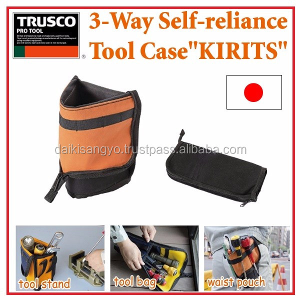 High-capacity and Unique aluminium case hand tool set TRUSCO 3 way Tool case for industrial use