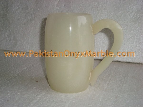 FINE QUALITY ONYX COFFEE CUPS OR MUGS HANDICRAFTS
