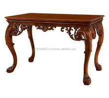 Cheap Price Mahogany Carved Hotel Hobby Lobby Console Table Antique 03 - Hotel Furniture