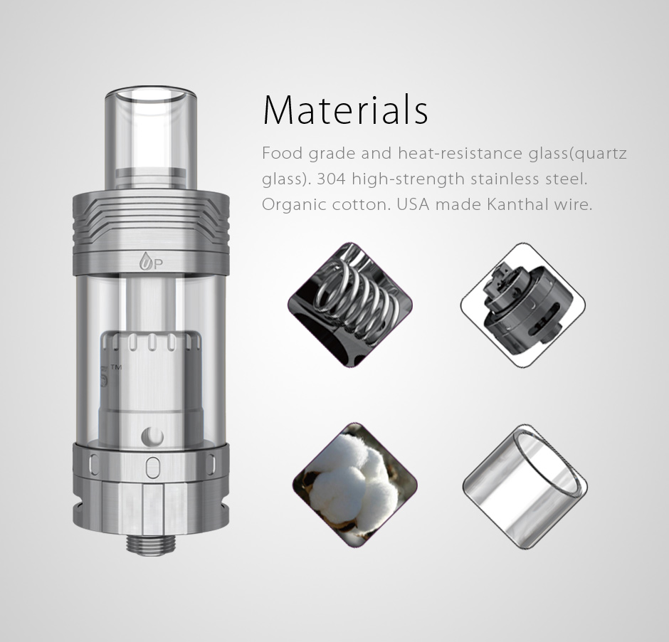 New Launched!OBS innovative RTA atomizer ecig Crius with all parts detachable