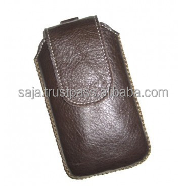 Cow leather bag for cell phone SCC-005