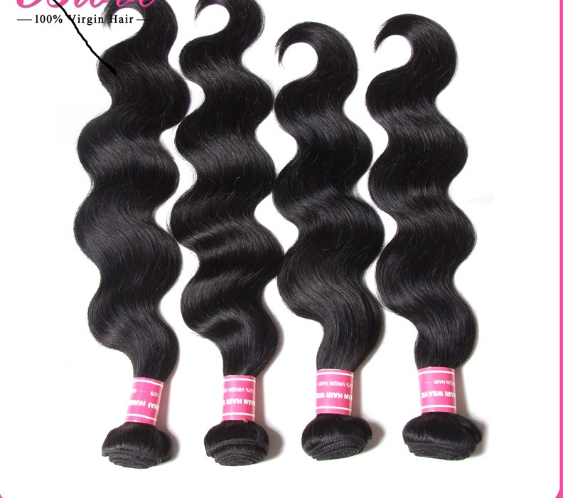Malaysian Body Wave 4 Bundles 6A Unprocessed Malaysian Virgin Hair Weft HJ Weave Beauty Maylasian Hair 4pcs