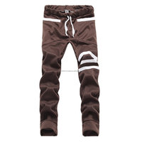 New style 2014 fashion mens pants sports pants sweat joggers cotton trousers