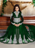 Party wear floor touch heavy work designer online shopping store\wholesale indian long anarkali suits stylish design