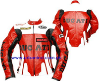Ducati Motorbike Racing Leather Jacket, Genuine Leather Motorbike/Motorcycle/Biker Leather Jackets, Motorbike Leather Jacket