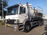 USED TRUCKS - MERCEDES-BENZ ATEGO 2528 6X2 VACUUM AND PRESSURE TRUCK (LHD 5673 DIESEL)