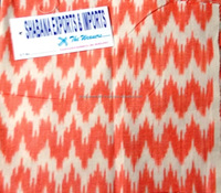 Best Quality Chevron Zig Zag Ikkat Fabric Wholesales Pure Cotton Ikkat Hippie Hippy Fabric