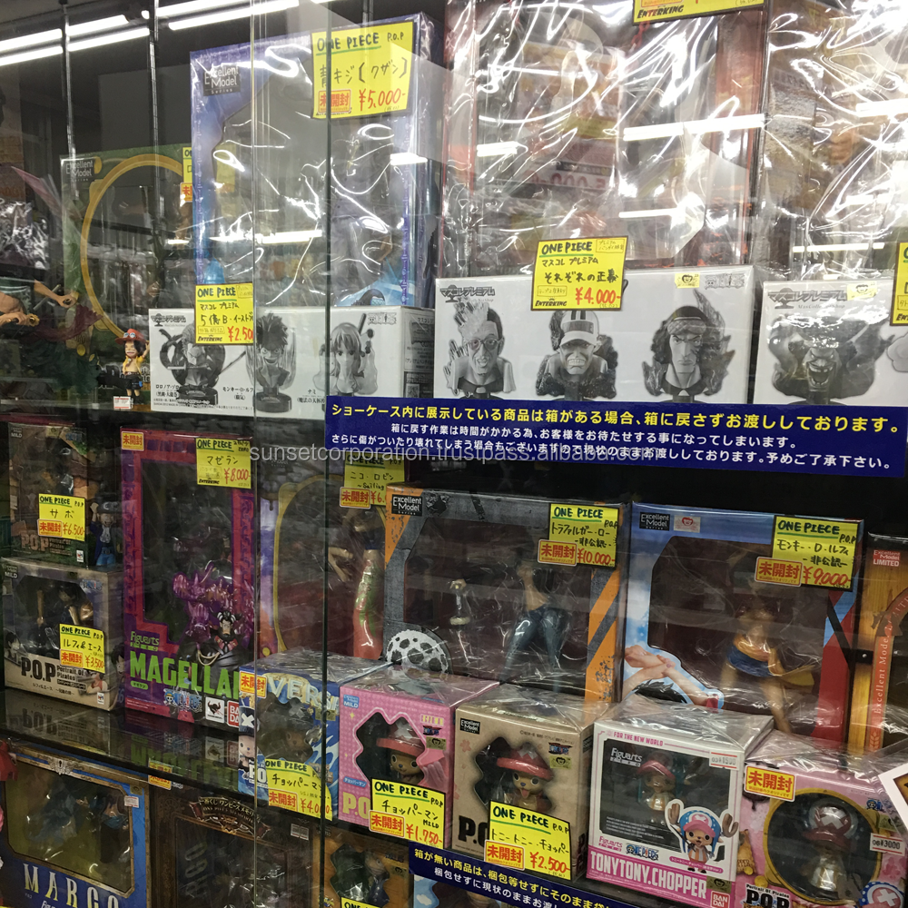 Wide selection of second hand Japanese anime and Dragon Ball action figure available in sets