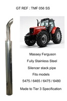 MASSEY FERGUSON STAINLESS STEEL SILENCER STACK PIPE