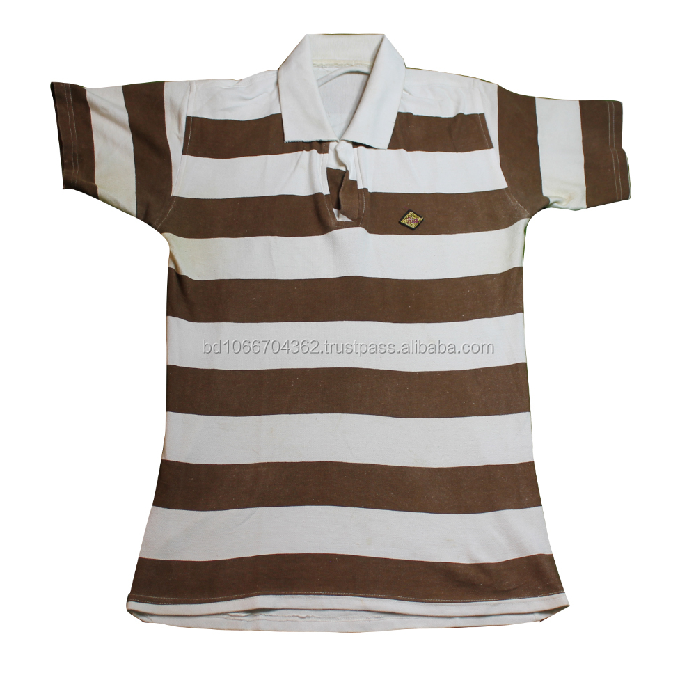 Striped Polo T Shirts For Men