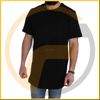 beige longline blank distressed tall t shirts extender scoop bottom t shirt in bulk online shopping