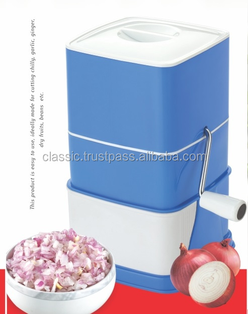 Non Electric manually operated Food chopper Fruit chopper