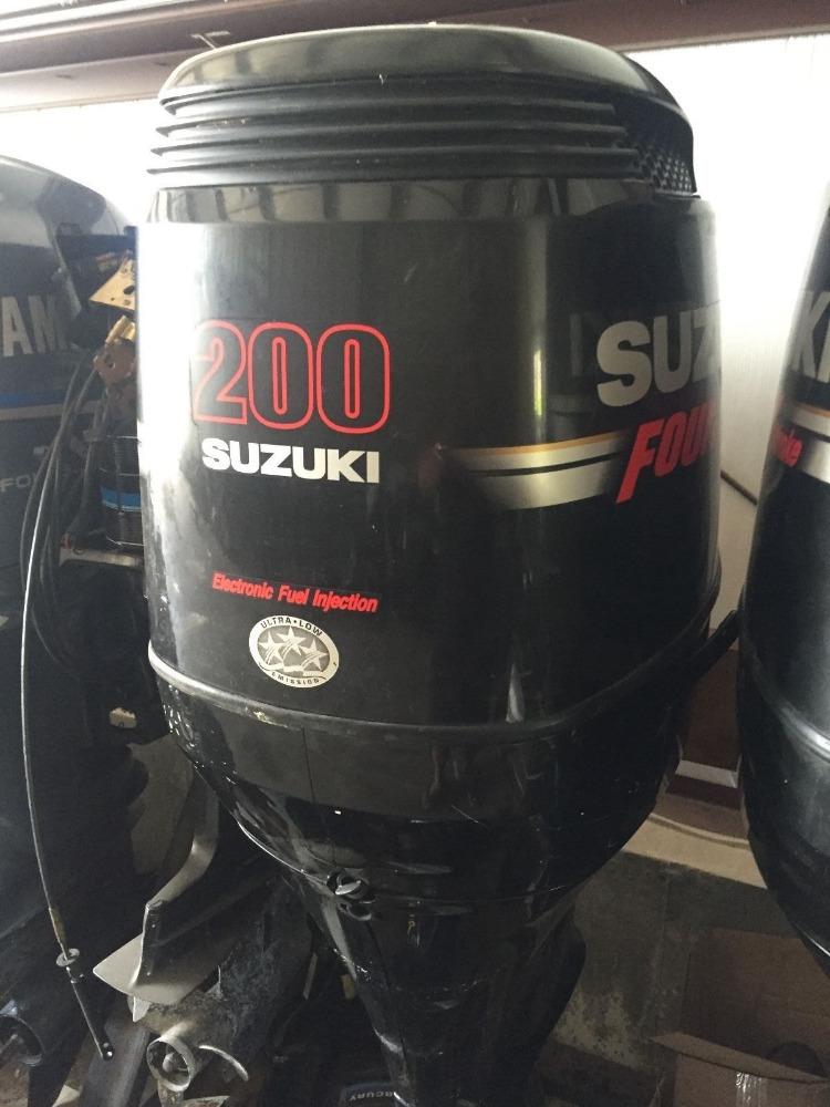 лодочные моторы сузуки 200