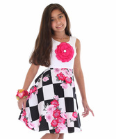 American / European Boutique Quality Girl's Dress Stocked In the USA