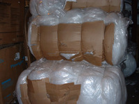 LDPE Film Reprocessed Granules Grade Air Bubble Roll Recycled Plastic Scrap