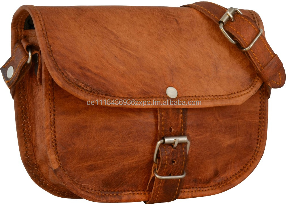Leather Bag Handbag Shoulder Vintage Genuine Leather Gusti Leather