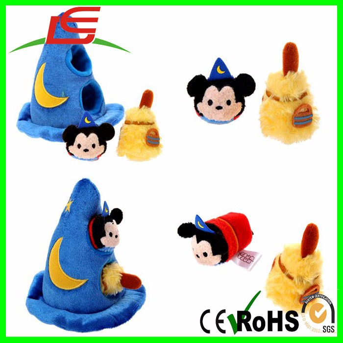 Wholesale Detachable Kawaii Willie Plush Mickey Sorcerer Steamboat