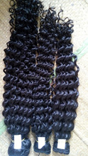 6A Grade Virgin Hair Loose Wave Curly 3PCS Unprocessed Human Hair Weaves Loose Curly Wave Hair Extension