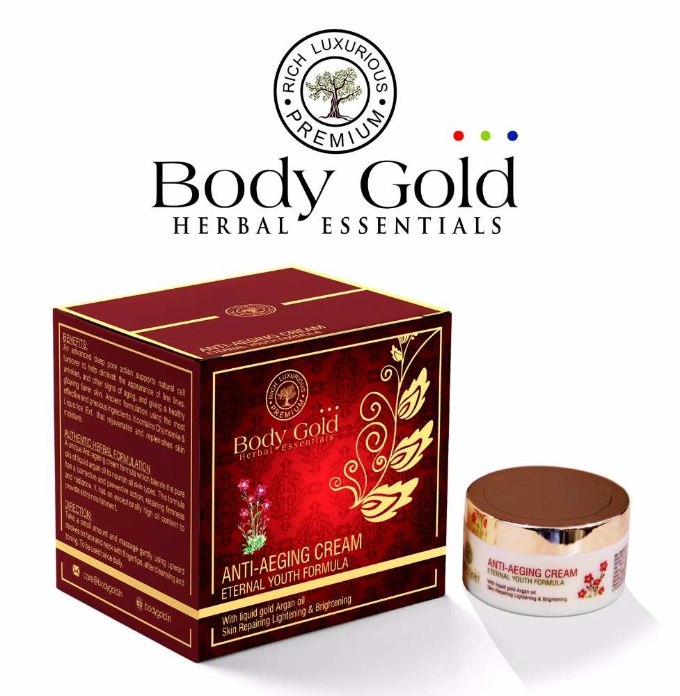 Body Gold Herbal Luxurious Anti Ageing Cream