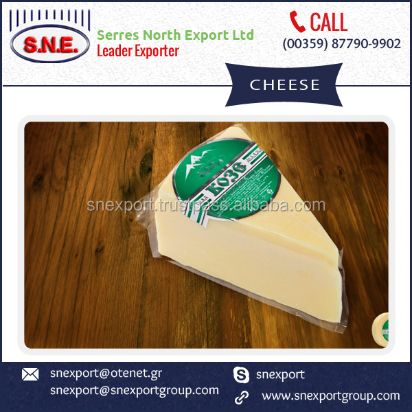 Goat Milk Kaskaval Cheese from Industry's Best Supplier