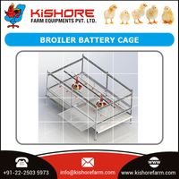 High Quality Galvanized Poultry Equipment Battery Cage by Leading Exporter