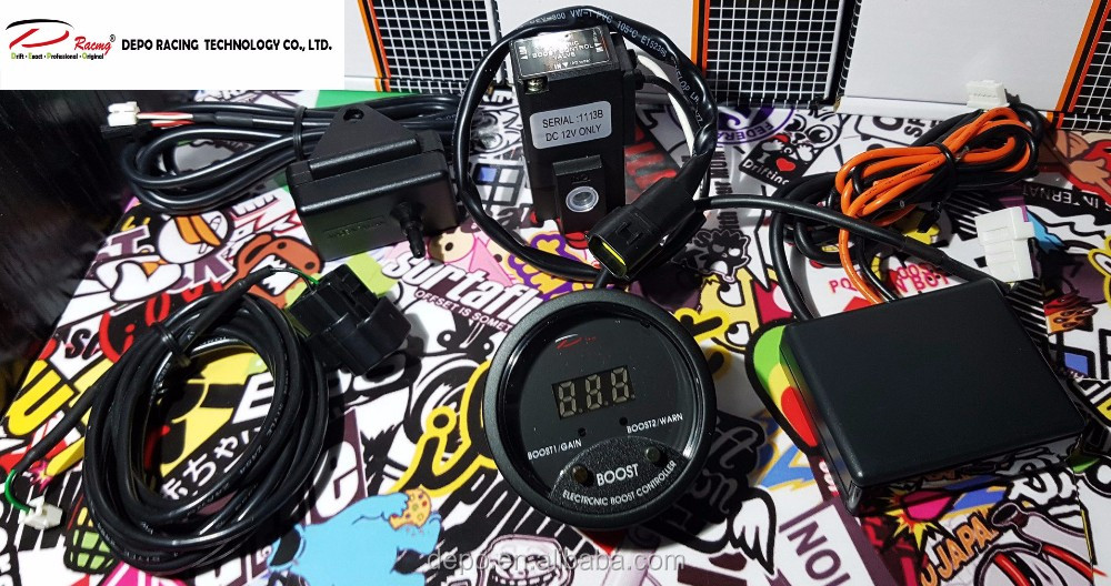52mm Electronic Turbo Boost Controller gauge for car