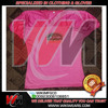 Pink American Football Practice Jersey with Printed Logo, Custom American Football Practice Shirts