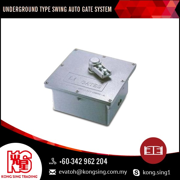 Best Selling Underground Swing Auto Gate System with Oil Bath Metal Gear