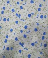 Ladies Apparel Polyester Fabric With Allover Flower Print