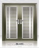 P6-SS91Stainless Steel Security Door Made from Malaysia