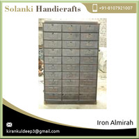 Standard Grade Almirah Iron Wardrobe with 32 Doors Available at Competitive Rate