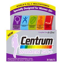 Centrum Women 50+ 30 Tablets x6