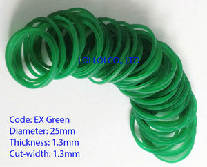 Rubber band size 014 EX Green / Wholesale Thailand Rubber Bands Natural Rubber Bands for Vegetable