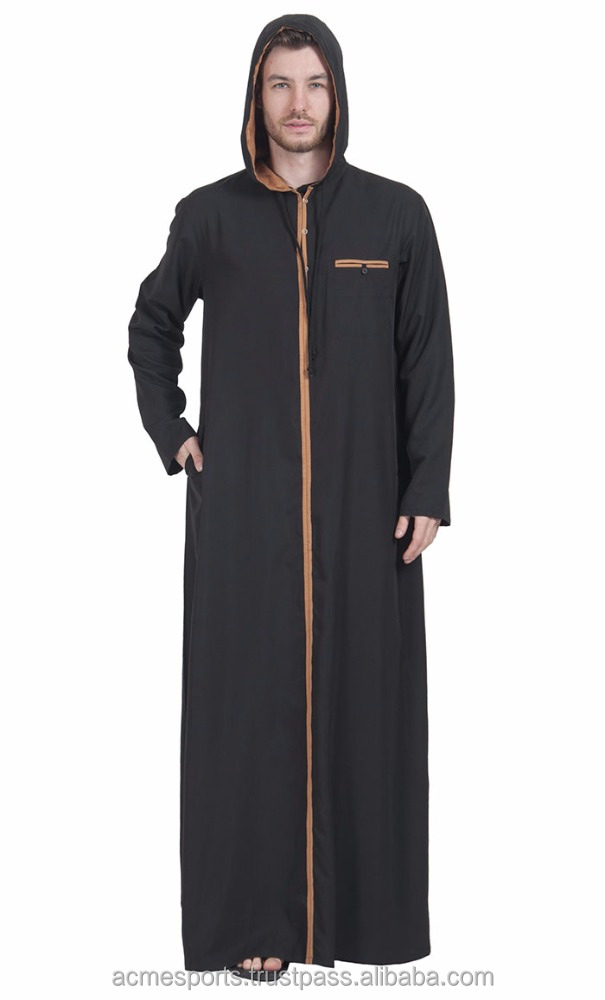 mens Daffah thobe - -Muslim Men's thobe thoub thaub thawb - custom 100% cotton fashionable Mens thobe