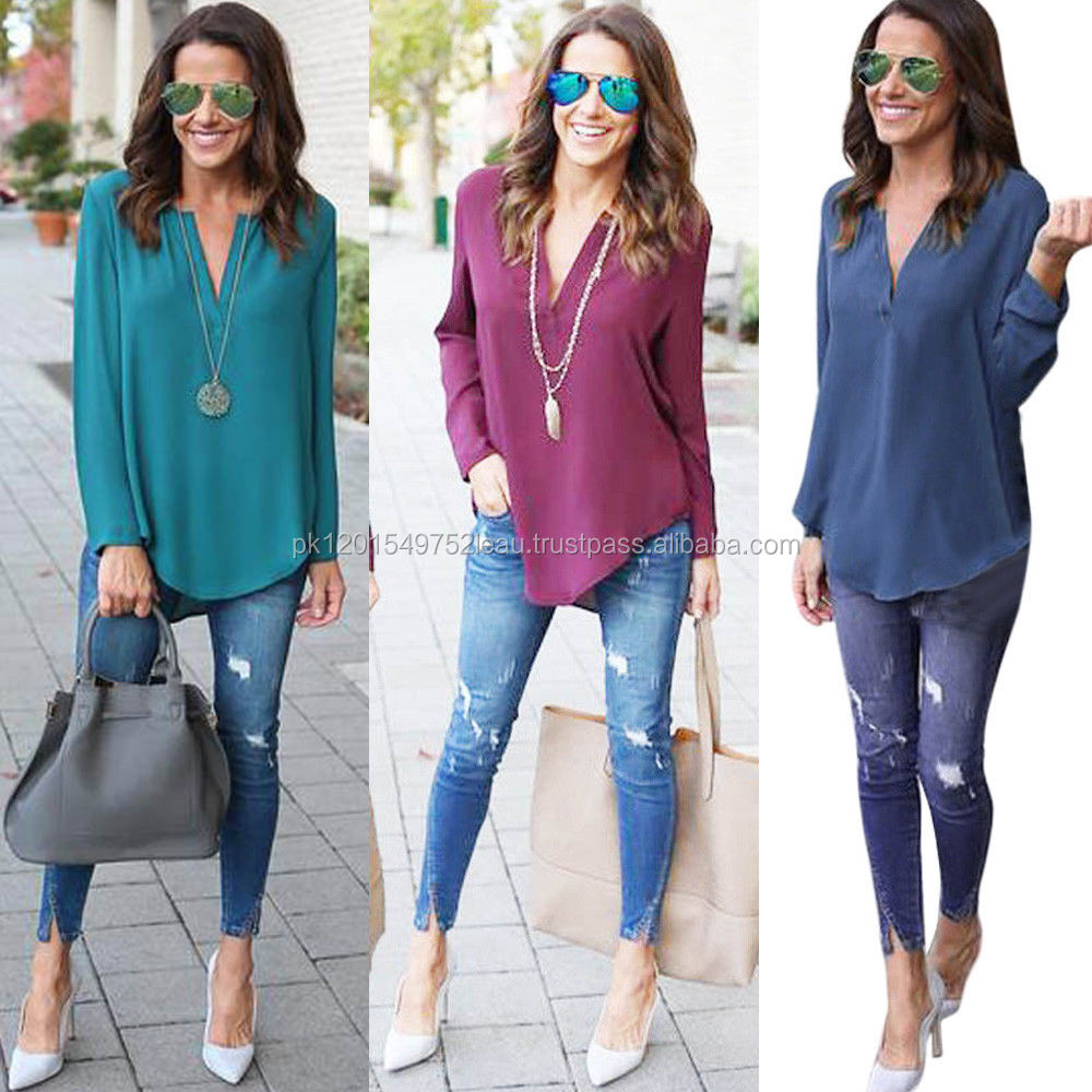 LOOSE Fit Latest Style Blouse WOMENS BEST QUALITY TOP