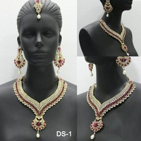 Designer Stone Bridal Necklace Sets
