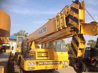 NK250E NK500E 50T Used KATO truck crane NK500E mobile crane for sale from japan