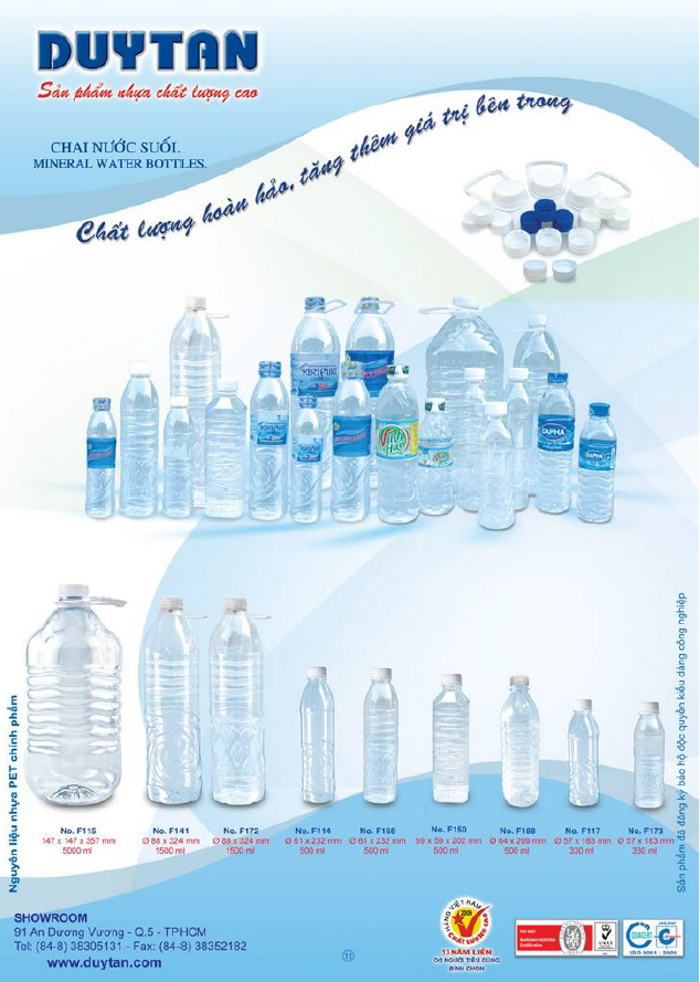 2017 water bottle 5 gallon 330ml 500ml 5L - PET PP with lid and cap-Skype: thao.huynh55