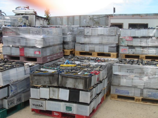 USED Waste Auto Car and Truck battery