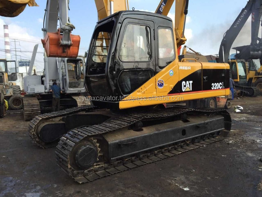 Used Machinery Used CAT 320CL Hydraulic crawler excavator for sale