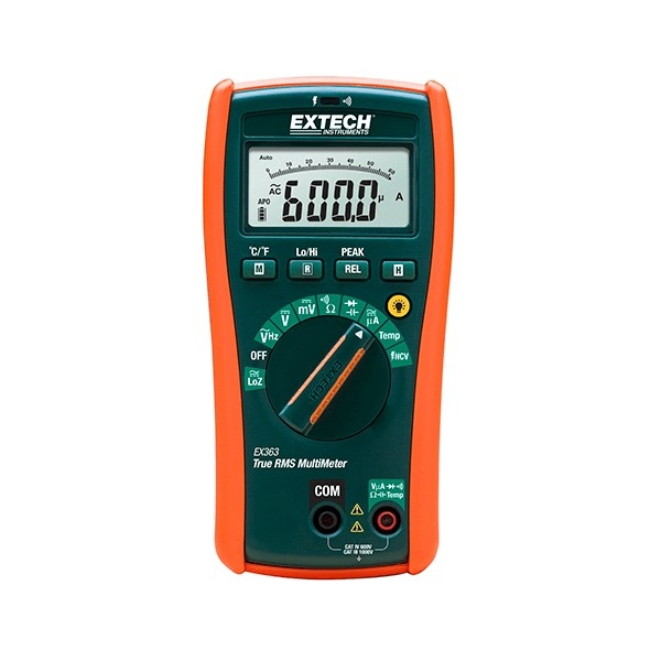 Extech EX363-NIST, 11 Function True RMS Multimeter with NIST Certificate