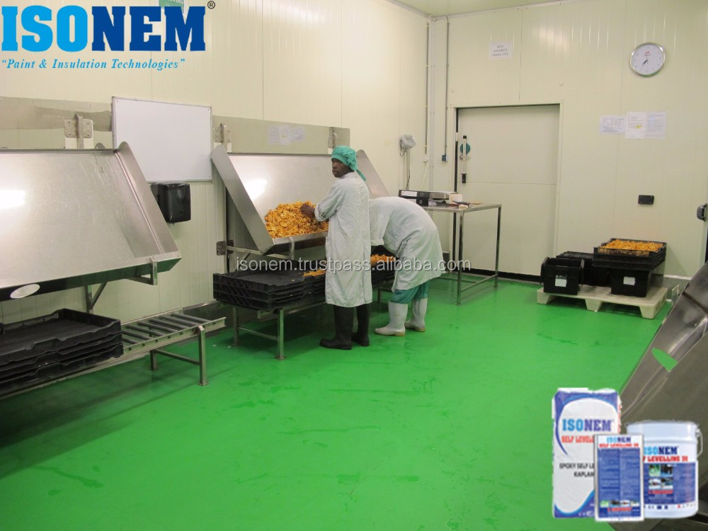 EPOXY RESIN BASED SELF LEVELLING FLOOR COATING FOR INDUSTRIAL FLOORS, FACTORIES, SHOPPING MALLS